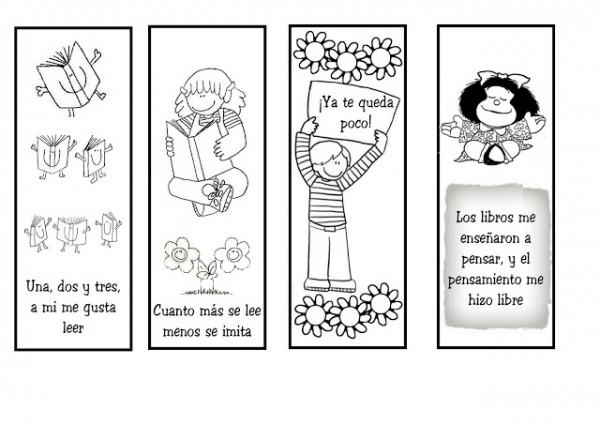 15 de Junio Día del Libro para colorear   Imágenes Totales