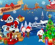 Imágenes de tarjetas con frases, mensajes y felicitaciones de Noche Buena y Navidad