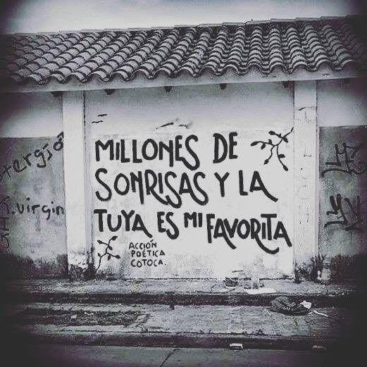 Imágenes de Graffitis con frases de Amor para enamorar