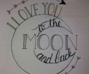 """Imágenes de amor con la frase """"Te Amo"""" en ingles, frances e italiano"""