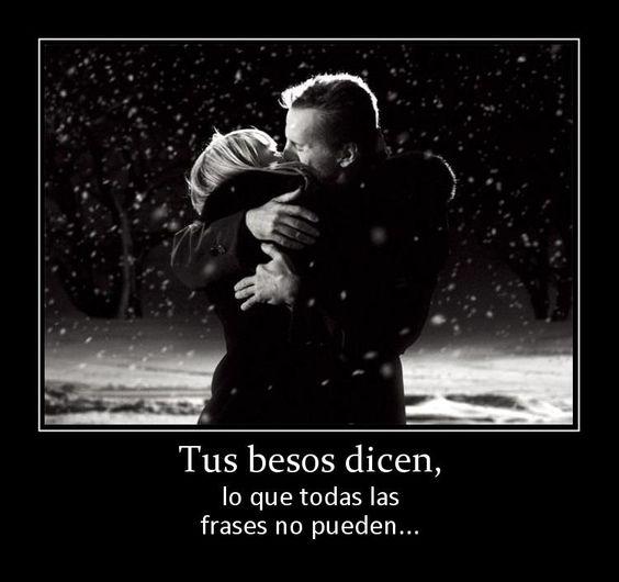 Imagenes De Corazones Y Besos Con Frases De Amor Brillo Y