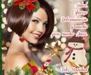 Imágenes con pensamientos y palabras bonitas para felicitar en Navidad