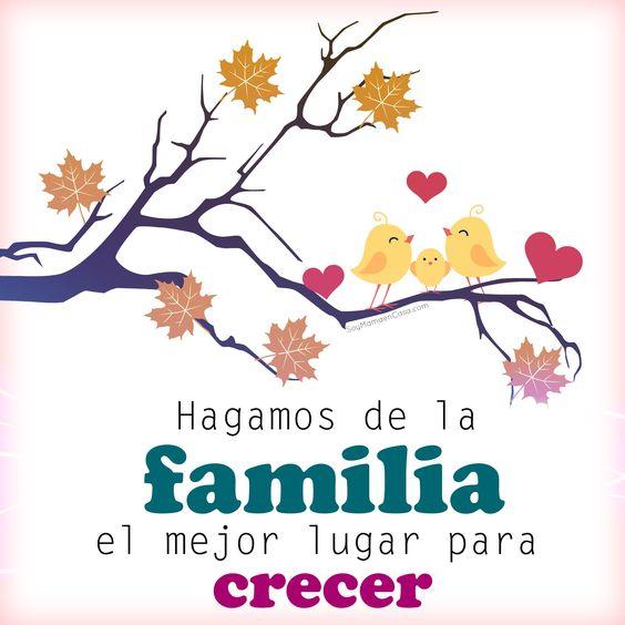 Imágenes Con Frases Sobre La Familia La Escuela Y La