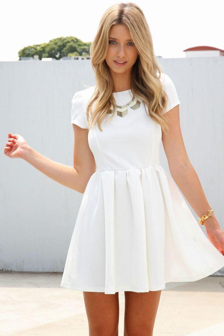 colores delicados presentación más fotos patrones de moda buscar auténtico gran calidad vestido blanco ...
