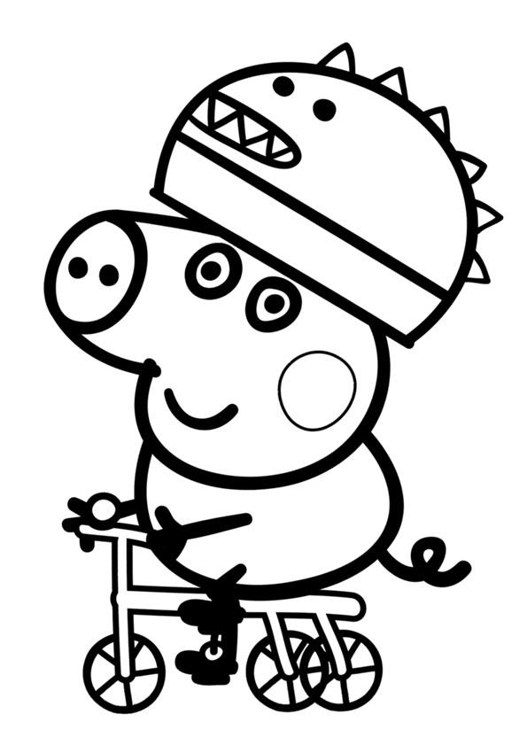 Imágenes Peppa Pig Para Colorear Dibujar E Imprimir