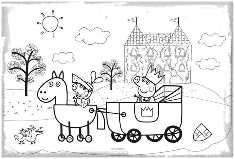 Dibujos De Peppa Para Colorear E Imprimir: Imágenes Peppa Pig Para Colorear, Dibujar E Imprimir