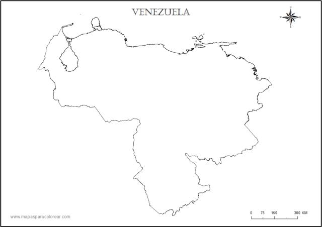 Mapas De Venezuela Para Descargar E Imprimir Con Regiones