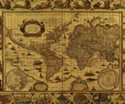 Mapamundi: Mapa del mundo para imprimir