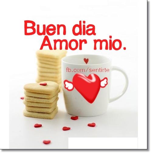 Imagenes Mensajes Y Frases De Buenos Dias Mi Amor