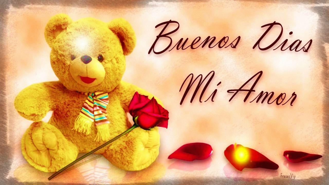 Buenos Dias Mensajes De Amor: Imagenes-con-mensajes-de-buenos-dias-amor-con-peluche