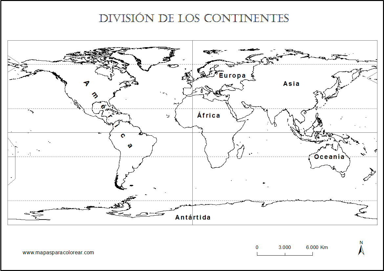 Mapamundi 6 Tipos De Mapamundis Para Descargar E Imprimir Imagenes Totales