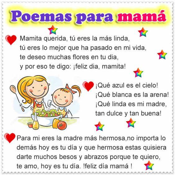 Feliz Día De La Madre Imágenes Frases Mensajes Y Poemas Para