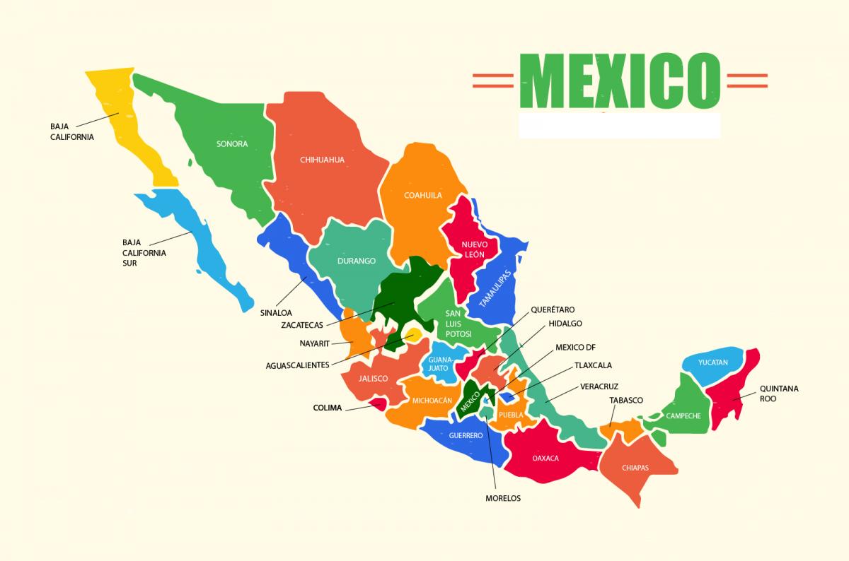 Icono Mapa Mexico Png: Mapa De México: Político, Regiones, Relieve, Para