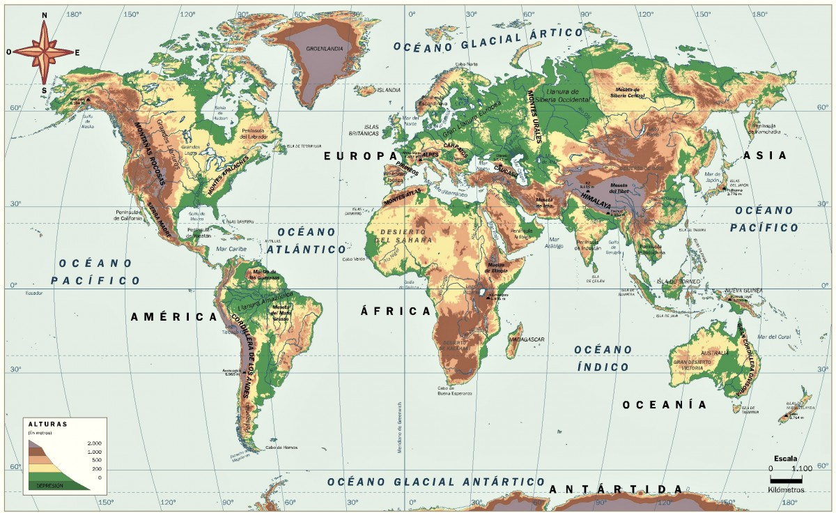 Mapamundi Politico Mapas Para Descargar E Imprimir Imagenes